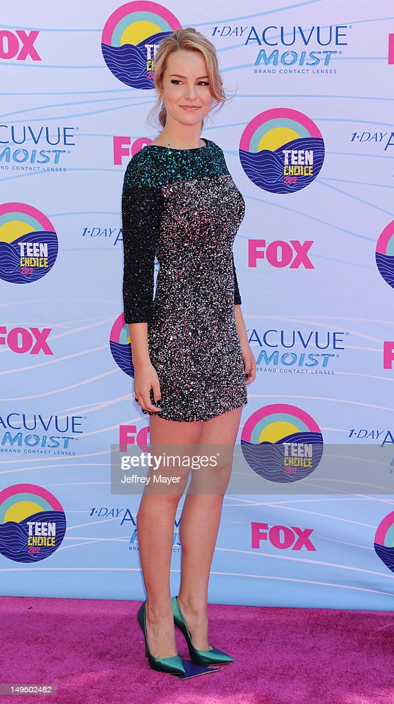 Bridgit Mendler arrives at the 2012 Teen Choice Awards at Gibson Amphitheatre on July 22, 2012 in Universal City, California.