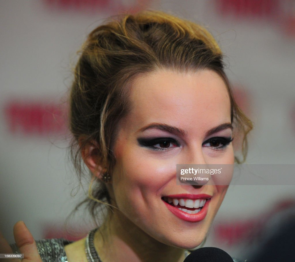 Bridgit Mendler attends Power 96.1's Jingle Ball 2012 at Phillips Arena on December 12, 2012 in Atlanta, Georgia.