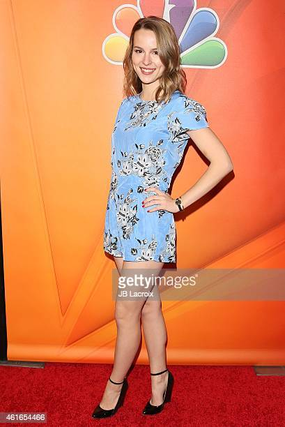 Bridgit Mendler attends the NBCUniversal 2015 Press Tour at the Langham Huntington Hotel on January 16 2015 in Pasadena California