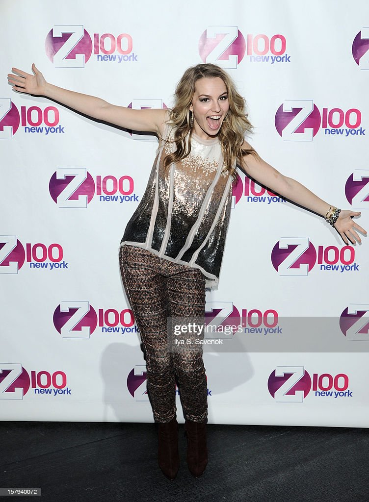 Bridgit Mendler attends Z100's Jingle Ball 2012, presented by Aeropostale, at Madison Square Garden on December 7, 2012 in New York City.