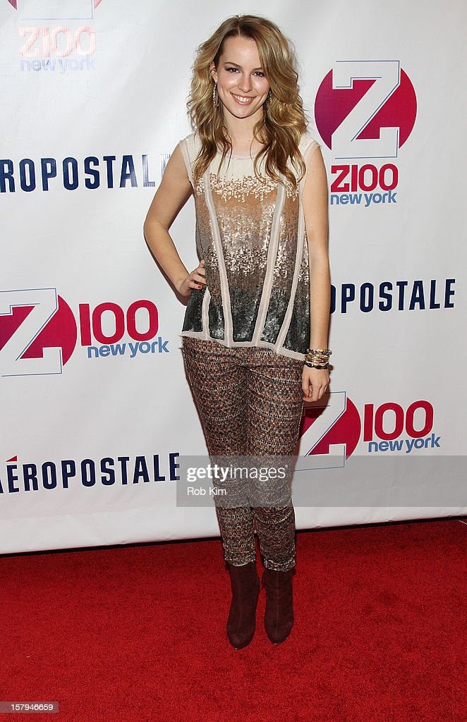 Bridgit Mendler attends Z100's Jingle Ball 2012 presented by Aeropostale at Madison Square Garden on December 7, 2012 in New York City.
