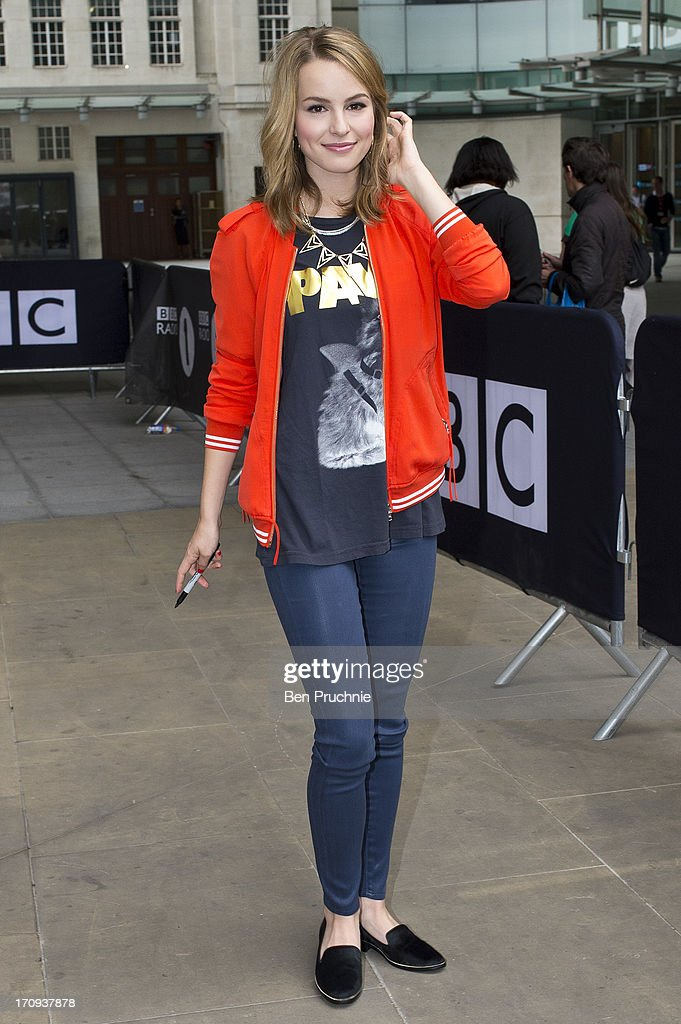 Bridgit Mendler sighted at BBC Radio Studios on June 20, 2013 in London, England.