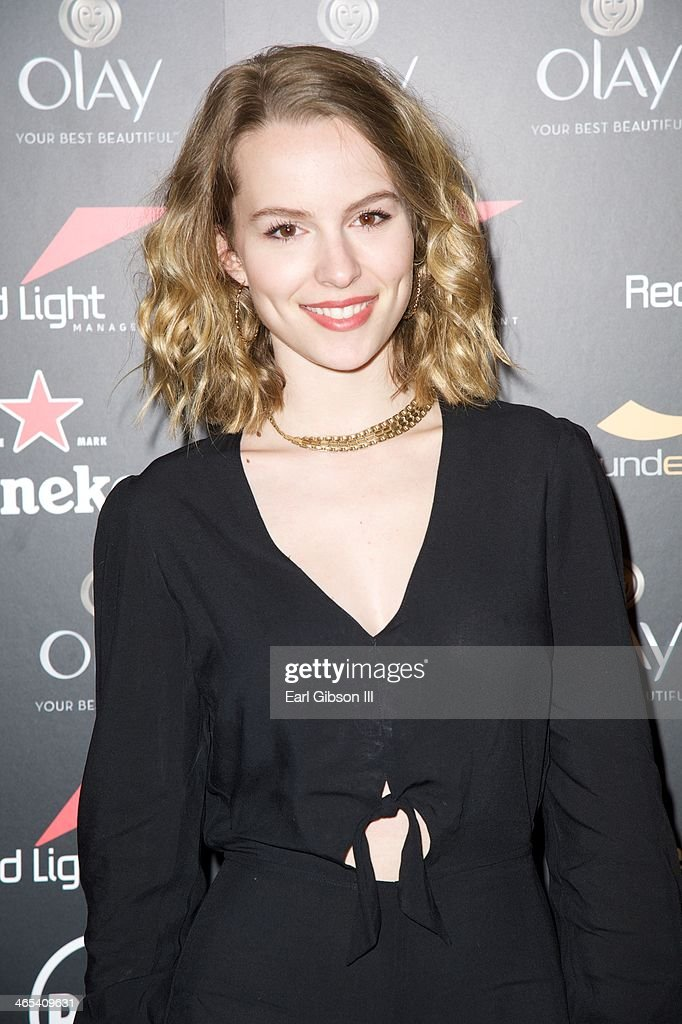 Bridgit Mendlerattends The Grammy Awards Red Light Management After Party at Sky Bar, Mondrian Hotel on January 26, 2014 in West Hollywood, California.