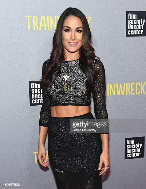 Brie Bella attends the 'Trainwreck' New York Premiere at Alice Tully Hall on July 14 2015 in New York City
