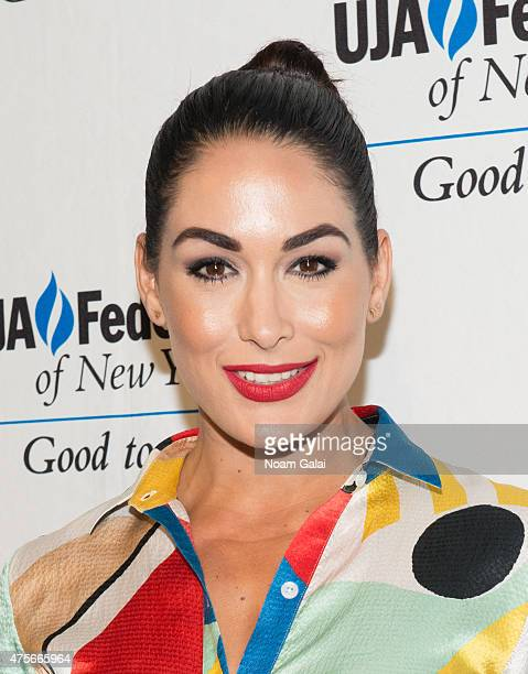 Brie Bella attends the UJAFederation New York's Entertainment Division Signature Gala at 583 Park Avenue on June 2 2015 in New York City