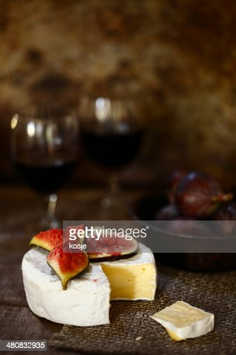 Figs And Cheese Stock Photo | Getty Images