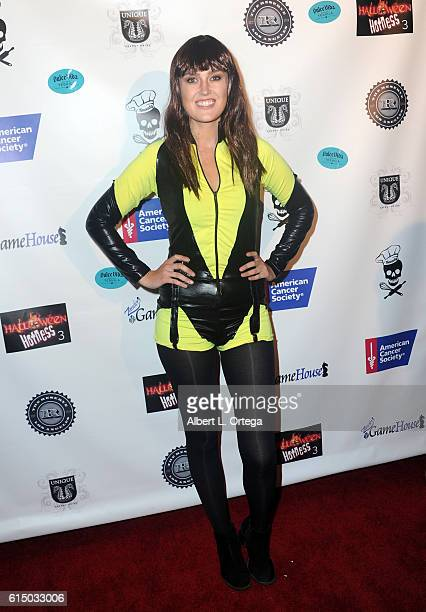 Brie Kristiansen attends the Hallowe'en Hotness In 3D Heroes And Villains held at The Reserve on October 15 2016 in Los Angeles California