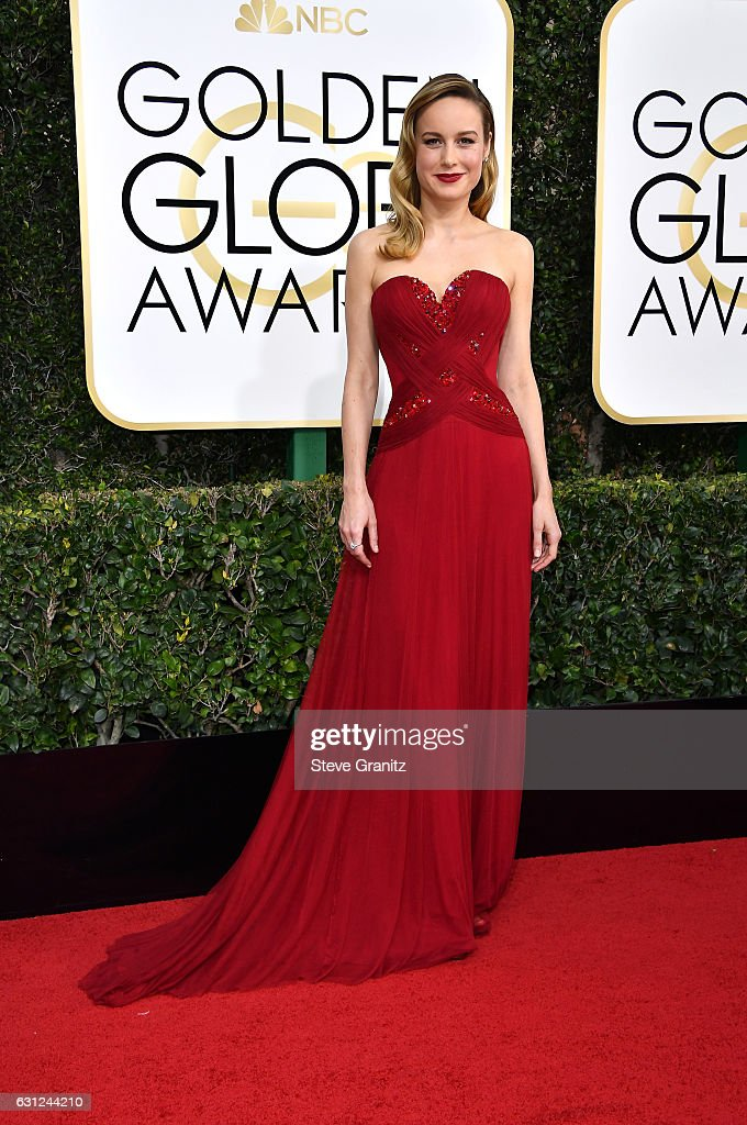 Brie Larson arrives at the 74th Annual Golden Globe Awards at The Beverly Hilton Hotel on January 8, 2017 in Beverly Hills, California.