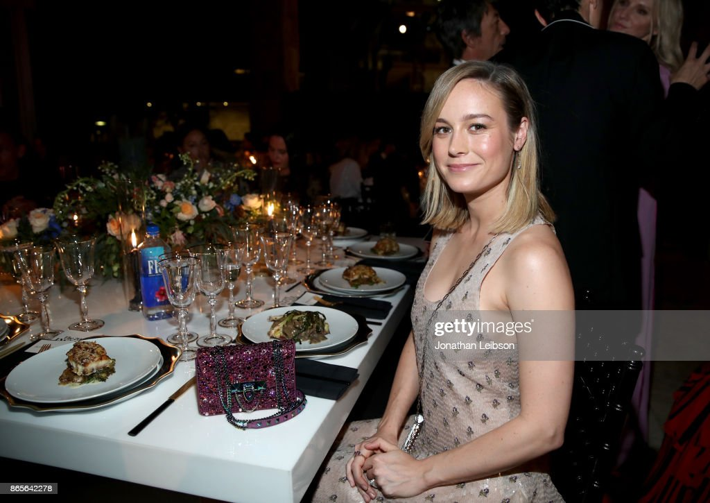 Brie Larson at the 2017 InStyle Awards presented in partnership with FIJI WaterAssignment at The Getty Center on October 23, 2017 in Los Angeles, California.