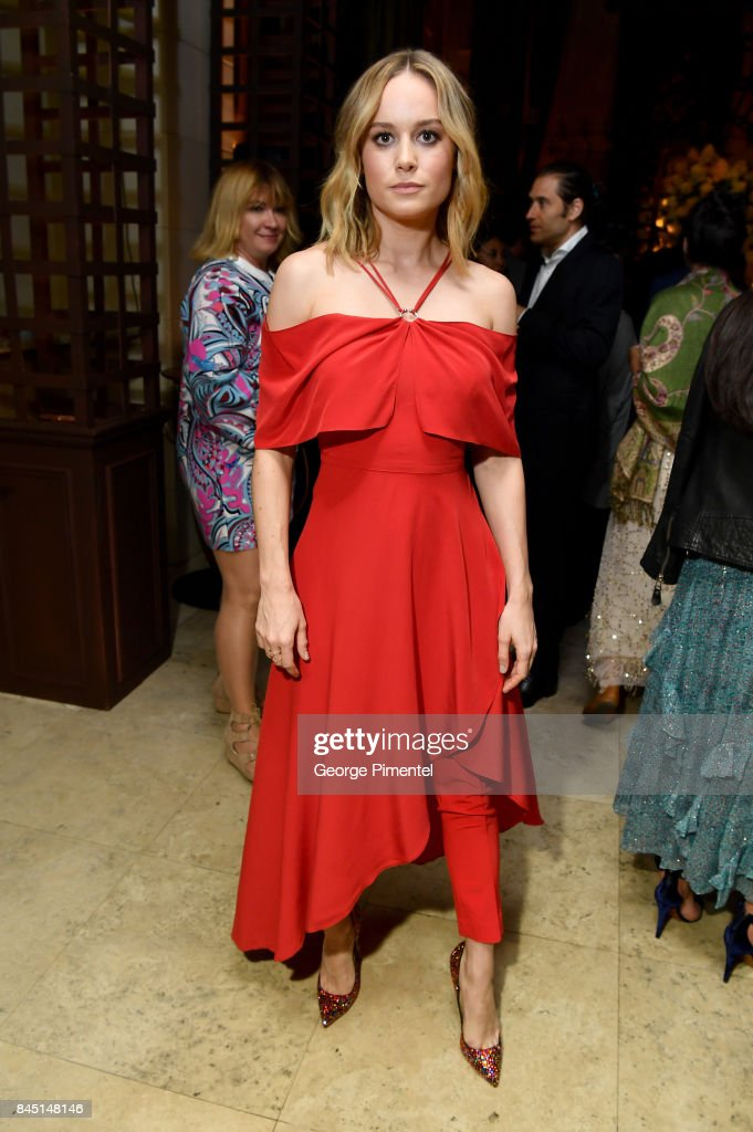 Brie Larson attends The Hollywood Foreign Press Association (HFPA) and InStyle's annual celebrations of the 2017 Toronto International Film Festival at Windsor Arms Hotel on September 9, 2017 in Toronto, Canada.