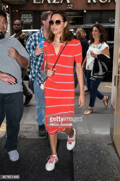 Brie Larson is seen on 'Today Show' on August 8 2017 in New York City