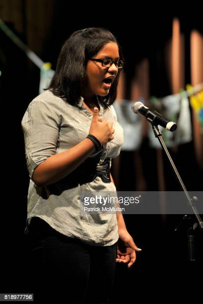 Brieanna attends The East Harlem School presents 2010 Spring Poetry Slam at Highline Ballroom on May 4 2010 in New York City