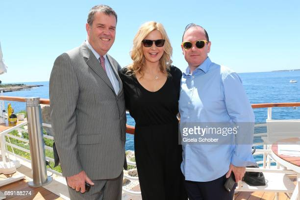 Briece Veronika Ferres and David Unger is spotted during the 70th annual Cannes Film Festival at hotel du Cap EdenRoc on May 20 2017 in Cap D'Antibes...