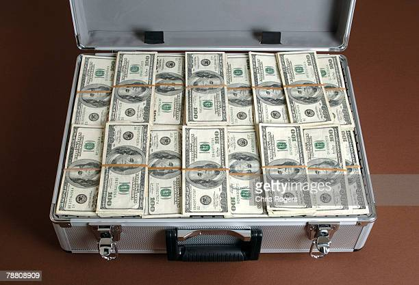 Briefcase Full of Banknotes