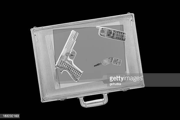 Briefcase with Gun
