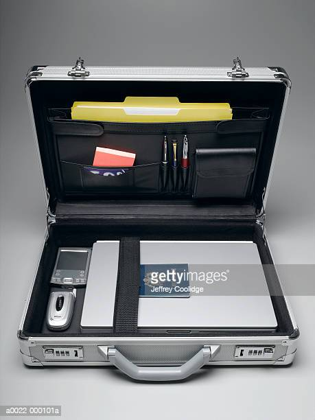 Briefcase With Passport