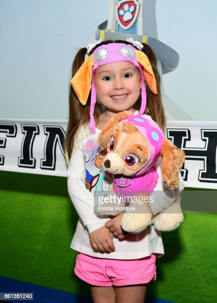 Brielle attends Nickelodeon And VStar Entertainment Group's PAW Patrol Live 'Race to the Rescue' at Dolby Theatre on October 14 2017 in Hollywood...