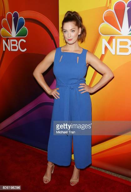 Briga Heelan arrives to the 2017 Summer TCA Tour NBC Press Tour held at The Beverly Hilton Hotel on August 3 2017 in Beverly Hills California