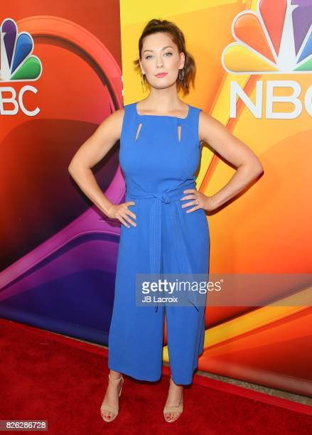 Briga Heelan attends the 2017 Summer TCA Tour 'NBCUniversal Press Tour' on August 03 2017 in Los Angeles California