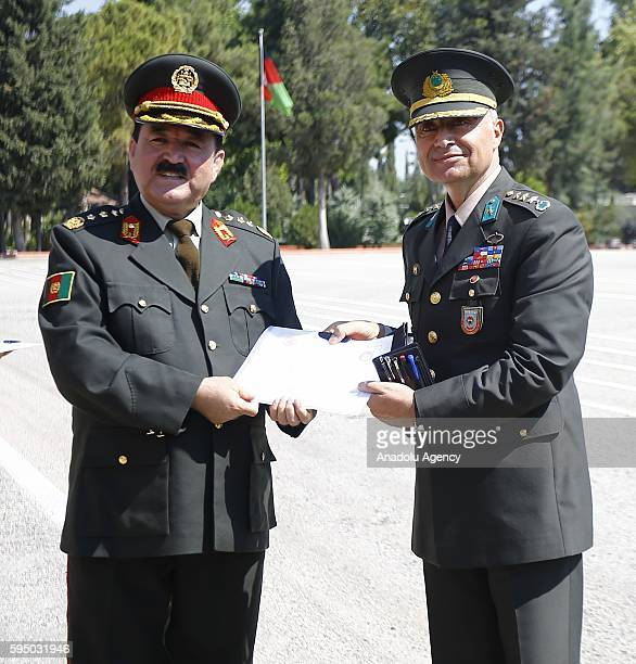 Brigade Commander Infantry Colonel Tahir Savran received a certificate of appreciation from Afghanistan General Staff the chief of plans and...