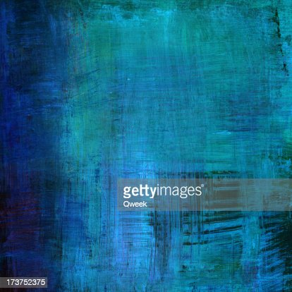 Bright Blue Abstract