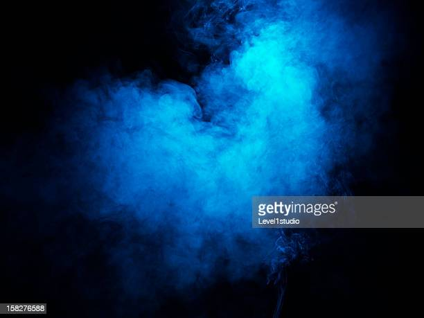 Bright colored smoke