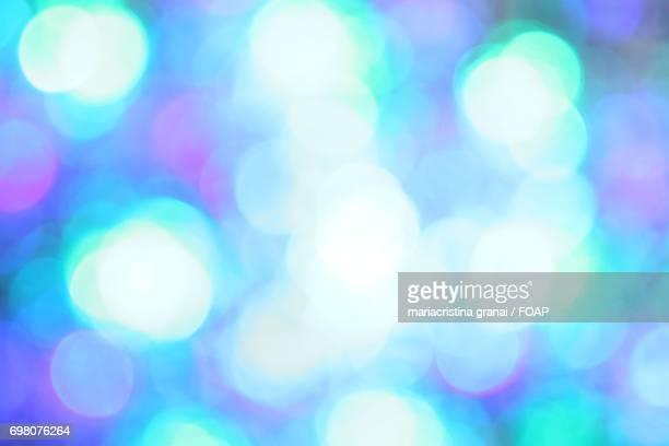 Bright defocused lights
