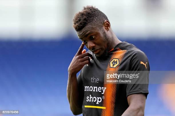 Bright Enobakhare of Wolverhampton Wanderers during the PreSeason Friendly between Shrewsbury Town and Wolverhampton Wanderers at The Montgomery...