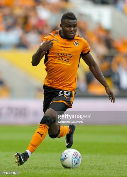 Bright Enobakhare of Wolverhampton Wanderers during the Sky Bet Championship match between Wolverhampton Wanderers and Middlesbrough at Molineux on...