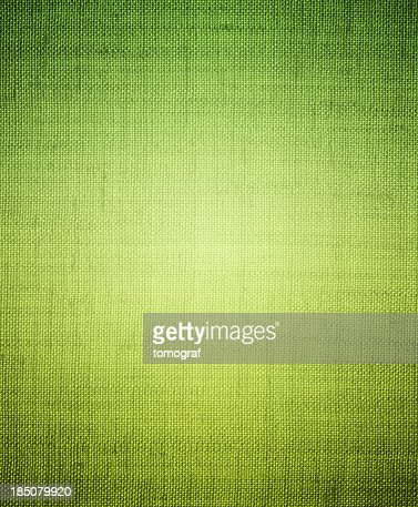 Bright green canvas-textured background