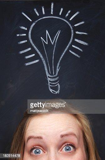 Bright Idea : Stock Photo