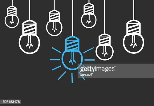 Bright Ideas : Stock Photo
