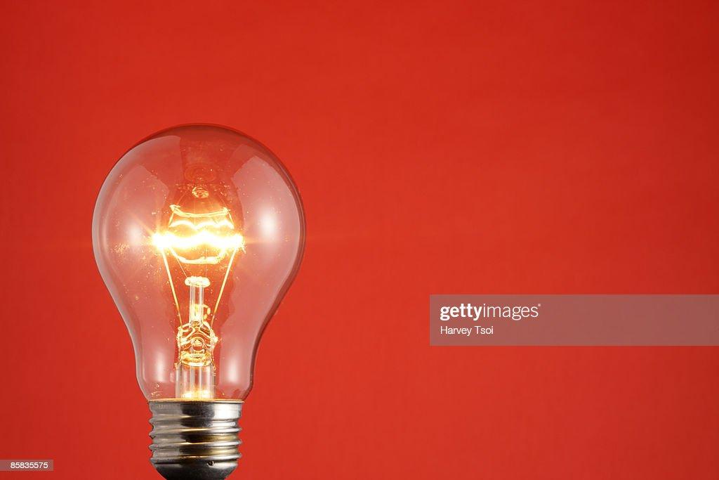 Bright Light Bulb : Stock Photo