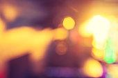 Bright defocused lights background.