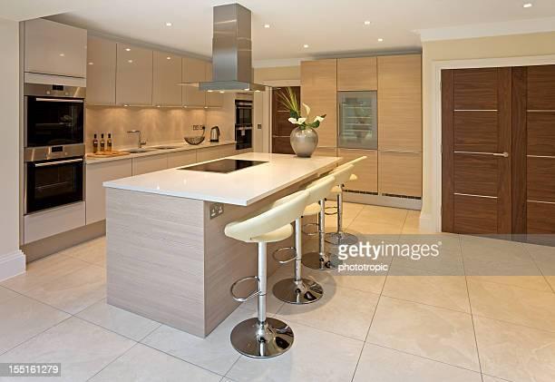 bright luxurious kitchen