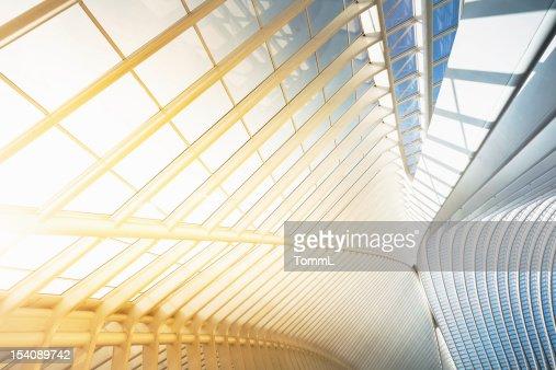 Bright Modern Architecture : Stock Photo