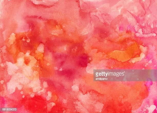 Bright orange and pink textured background