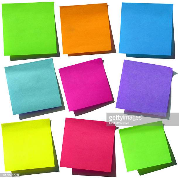 Bright Post-it Notes