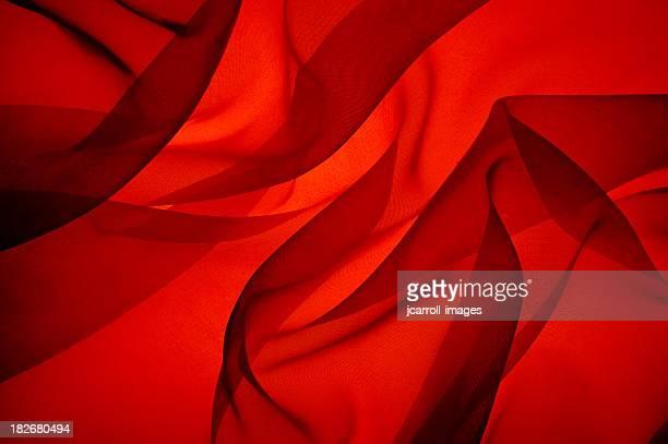 Chama abstrato brilhante vermelho