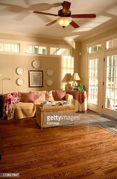 Bright Sunroom