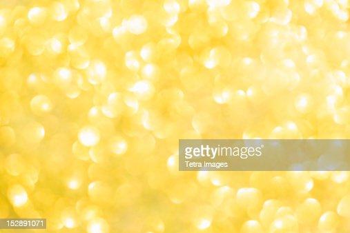 Bright yellow light