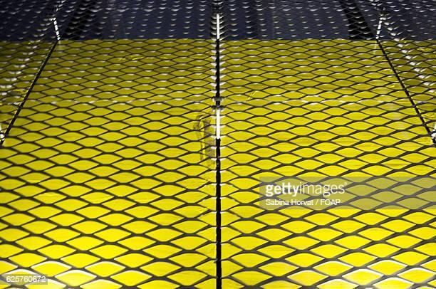 Bright yellow pattern