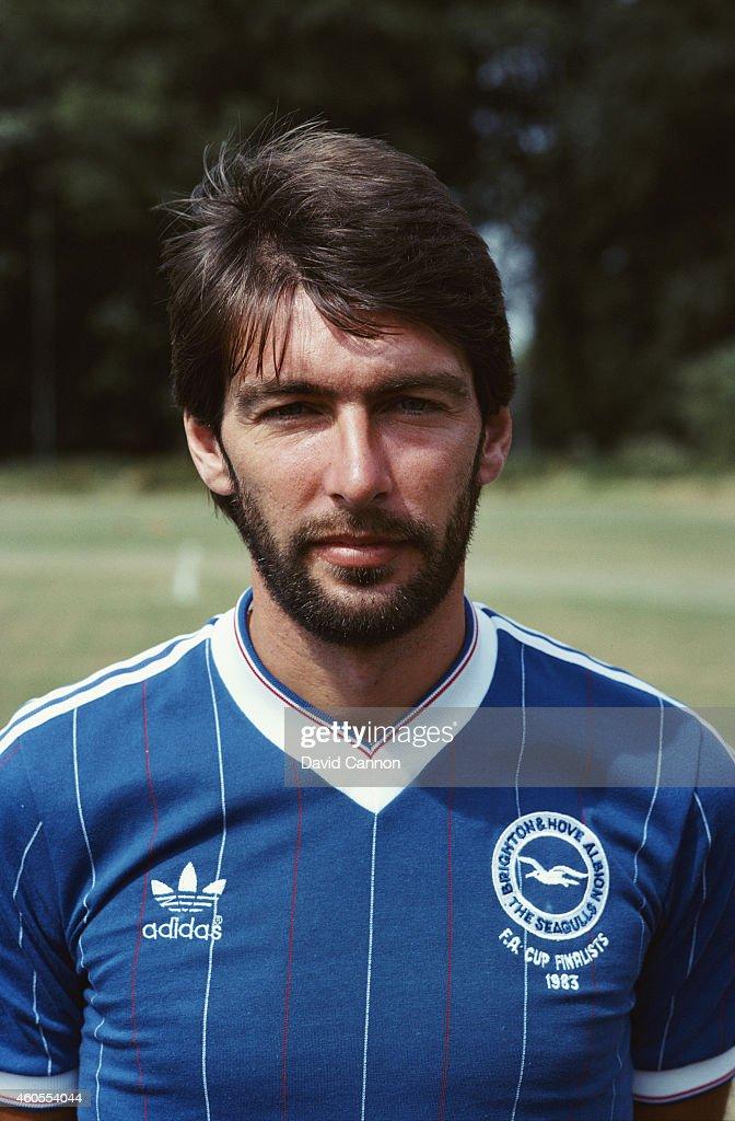 Brighton and Hove Albion forward Gordon Smith pictured circa 1983 Smith scored for Brighton in the 1983 FA Cup final against Manchester United