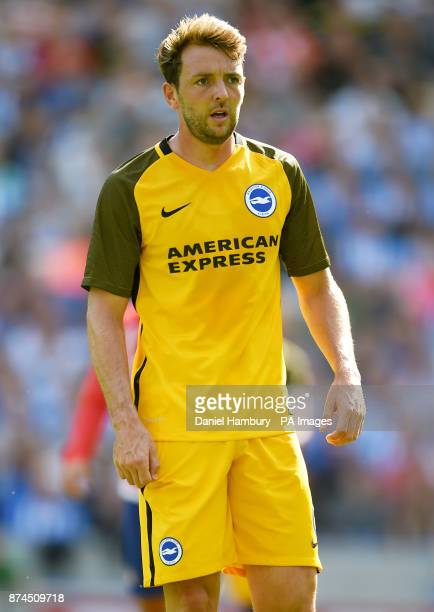 Brighton and Hove Albion's Dale Stephens during the preseason friendly at the AMEX Stadium Brighton