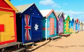 Brighton Beach Bathing Huts