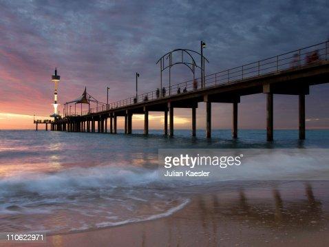 Brighton Beach Jetty, Adelaide