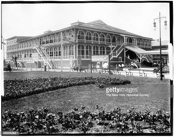 Brighton Beach Park and Bathing Pavilion Coney Island Brooklyn New York New York 1895
