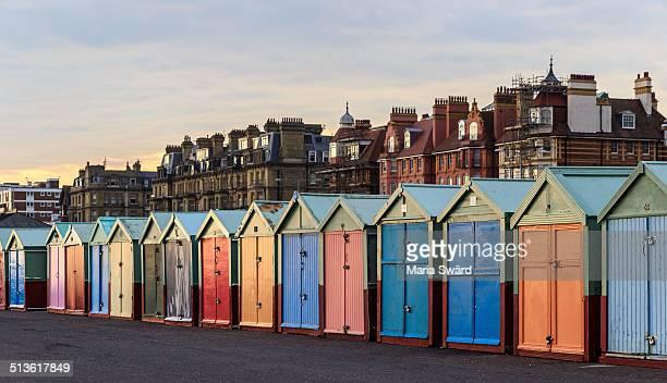 Brighton - colorful beach huts