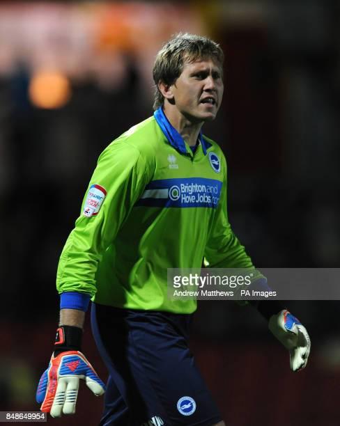 Brighton Hove Albion goalkeeper Tomasz Kuszczak