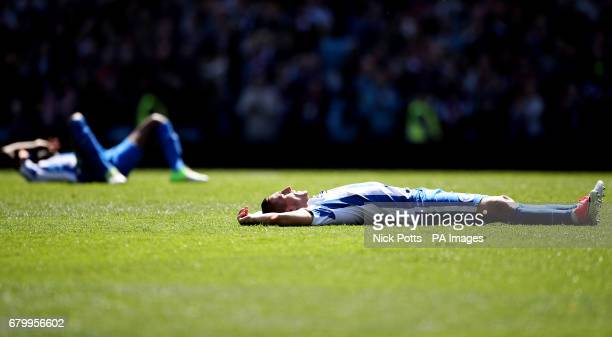 Brighton Hove Albion's Anthony Knockaert appears dejected during the Sky Bet Championship match at Villa Park Birmingham
